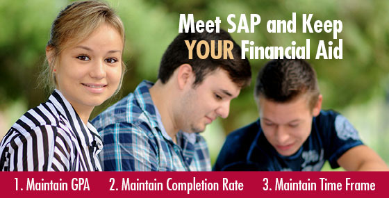 Meet S A P and keep your financial aid