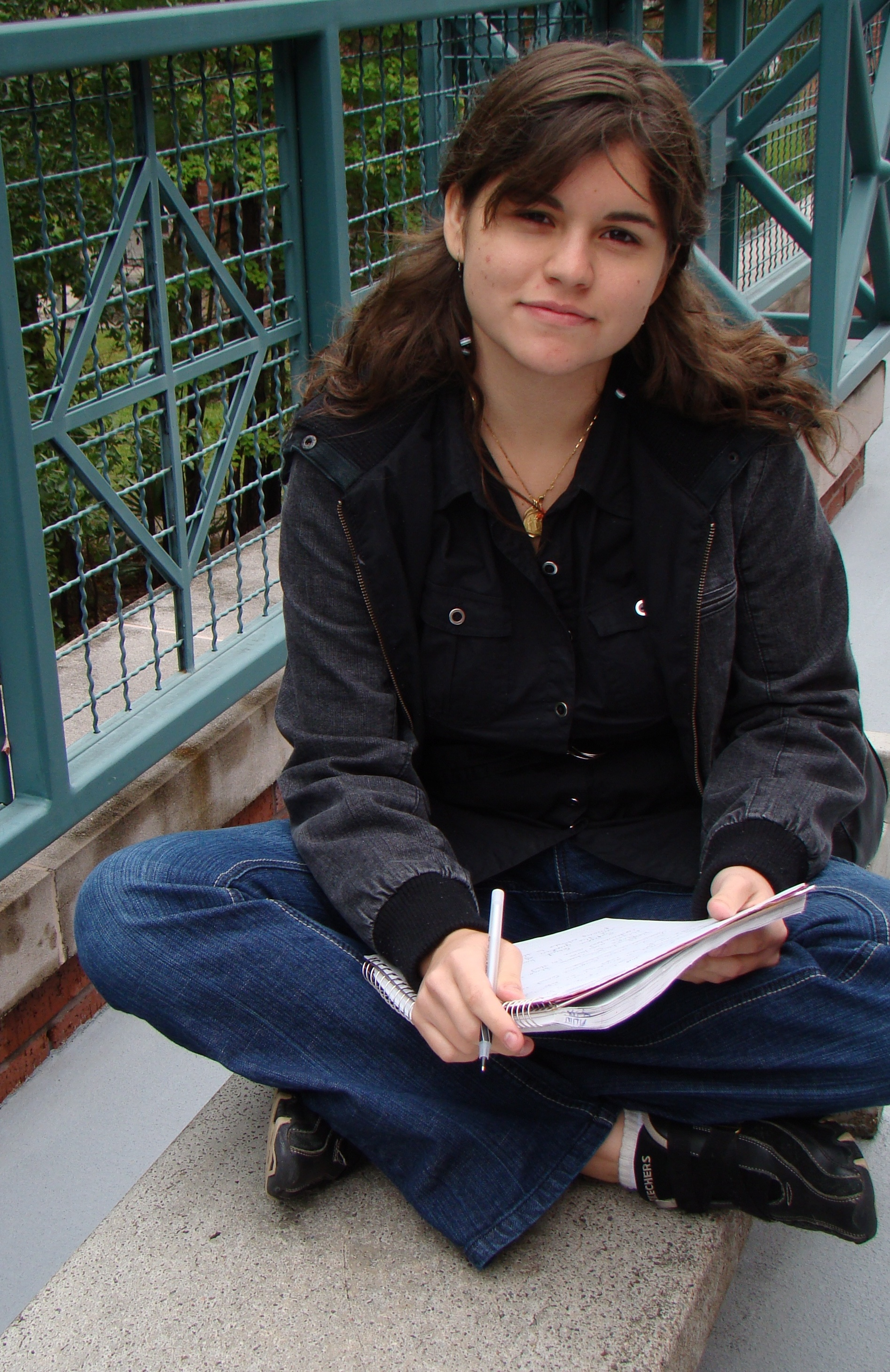 "Gabriela Delgado, an international student from Venezuela, often submits poems and reflective stories to ""The Global Pen,"" Lone Star College-Montgomery's newest student publication for international and ESOL students."