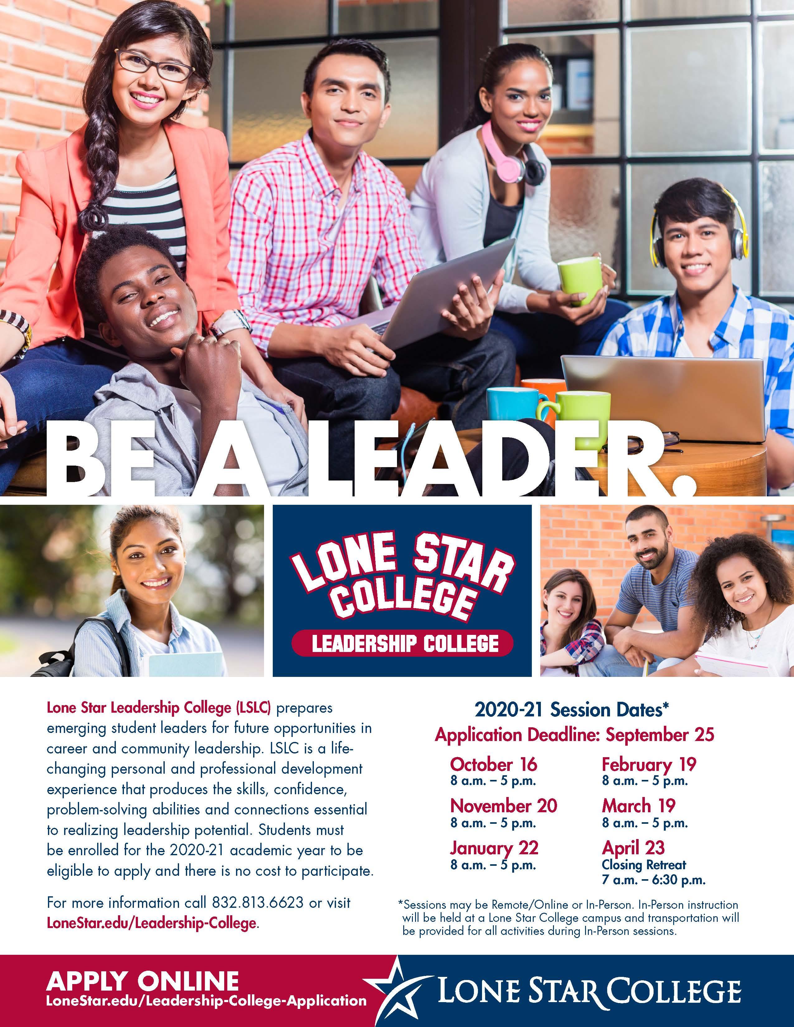 Lone Star College Calendar 2021 Leadership Development