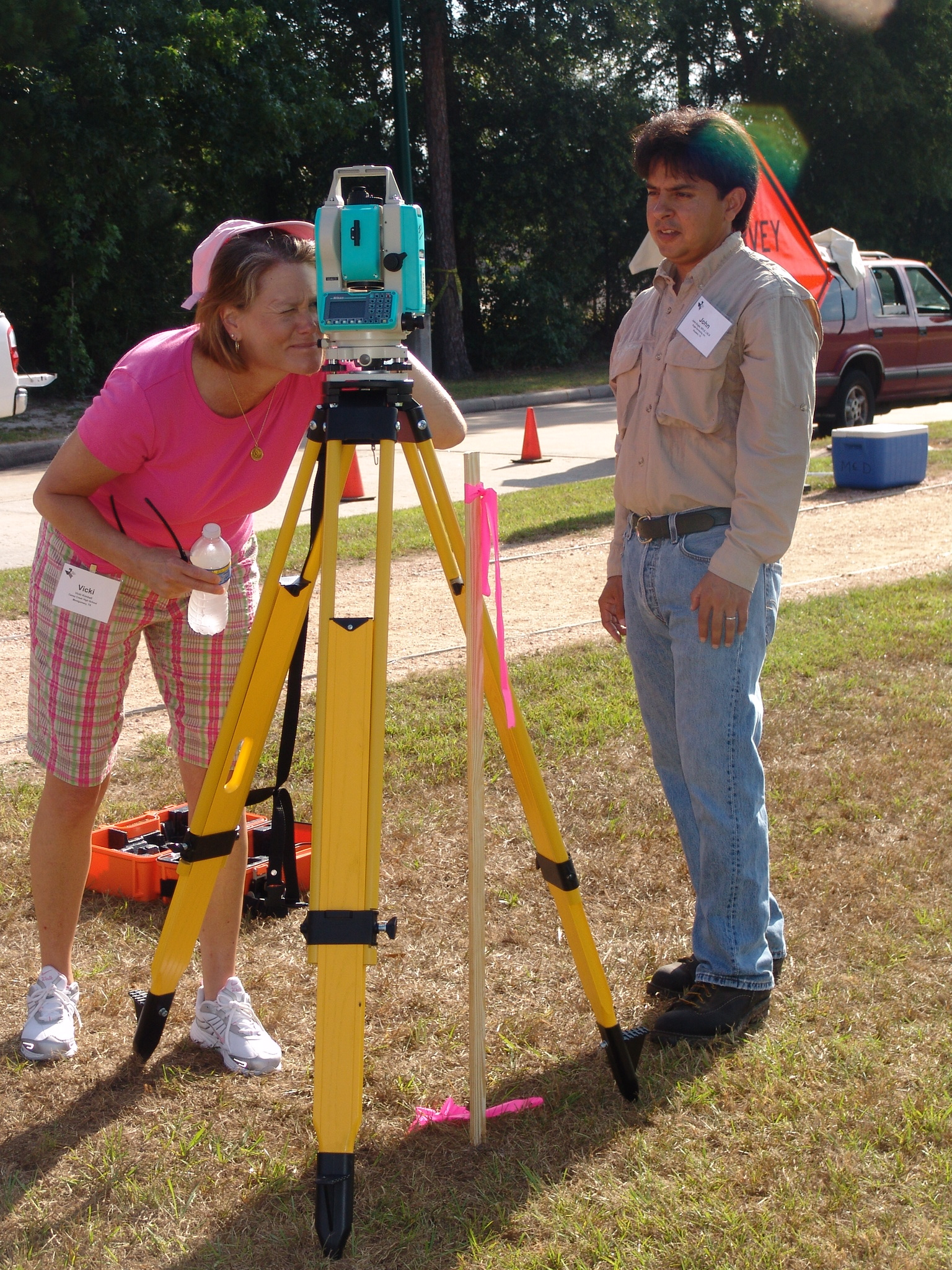 Land Surveying Students