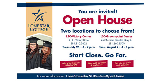 LSC-North Harris Centers Open House