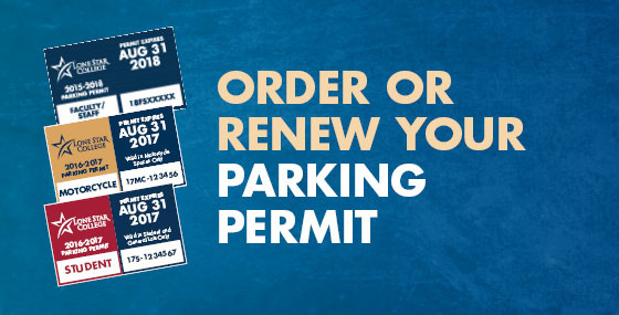 Order or Renew Your Parking Permit