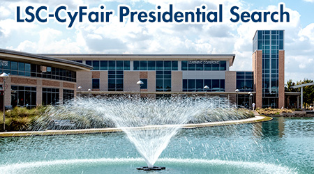 LSC-CyFair Presidential Search