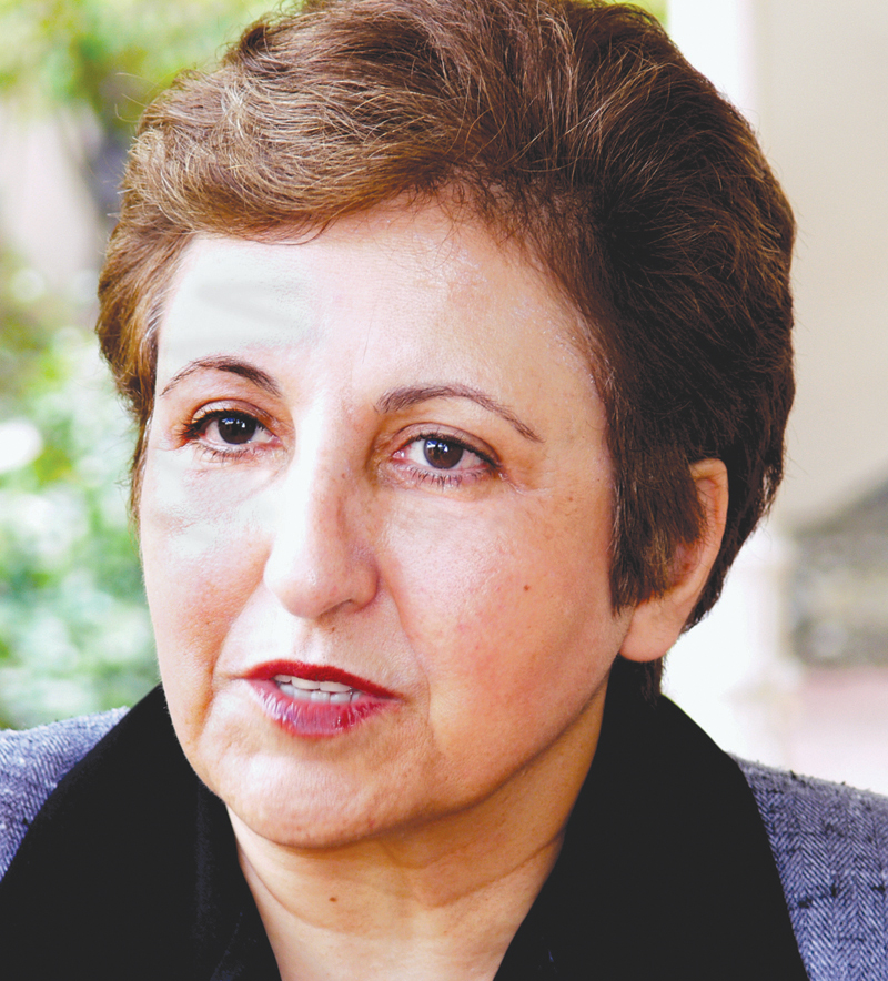 Shirin Ebadi, the recipient of the 2003 Nobel Peace Prize, will be discussing international human rights at Lone Star College-Montgomery on Friday, March 26.