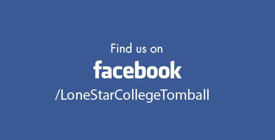 Like us on www.facebook.com/lonestarcollegetomball/