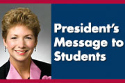 A Message To Students From The President of LSC-Kingwood