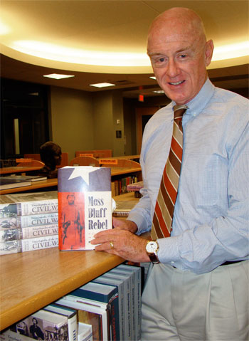 When it comes to the Civil War in Texas, Philip Caudill, an adjunct professor of history at Lone Star College-Montgomery, wrote the book—literally. And now his historical biography has been awarded the 2011 Summerfield G. Roberts Award, an honor presented by the Sons of the Republic of Texas, as the best book on the Civil War in Texas published in 2009.
