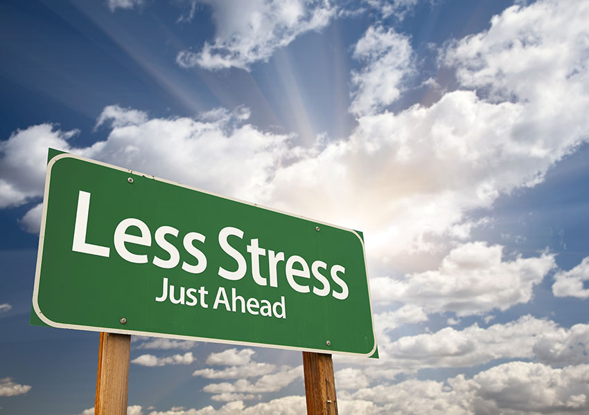 Stress Less When Life Is A Mess