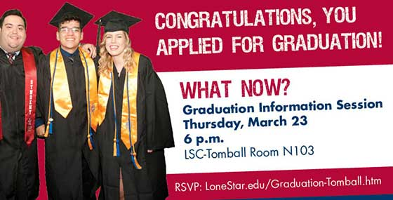 Graduation Information Session