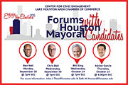 College, chamber host mayoral forum
