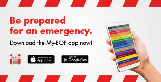 Be prepared for an emergency. Download the My E O P app now.