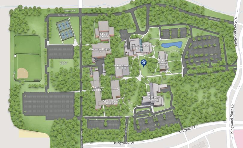 LSC-Kingwood Maps on university of arizona campus map, ssc campus map, emc campus map, sjc campus map, lcc campus map, smc campus map, bcc campus map, psc campus map, scu campus map, gcc campus map, southeastern louisiana university campus map, sac campus map, hcc campus map, acc campus map, sfcc campus map, university of northern iowa campus map, stc campus map, seu campus map, pcc campus map, kcc campus map,