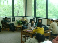 ESOL Students in Library