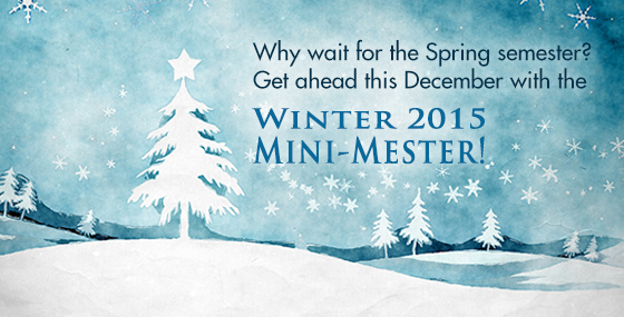 Winter Mini-Mester