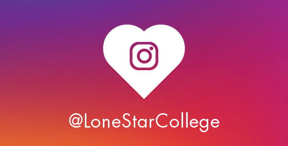 Stay connected on Instagram @LoneStarCollege