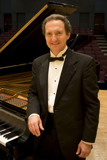 Dr. John Noel Roberts will officially break-in Lone Star College-Montgomery's Steinway piano during a community-wide concert on October 3.