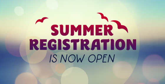 Summer 2015 Registration