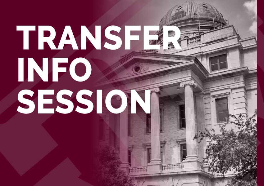 Texas A&M Info Session