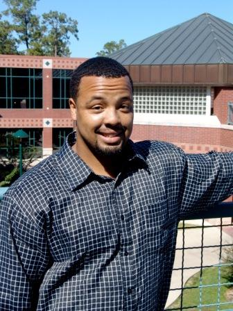 Alonzo Graham, first student to use new online admissions process