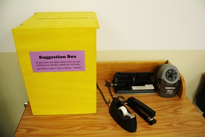 Our Suggestion Box